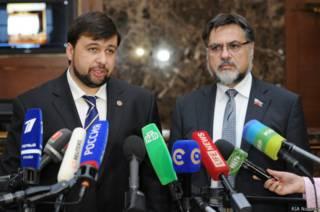 Денис Пушилин и Владислав Дейнего