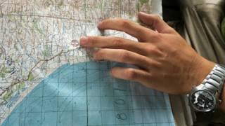 Карта Сирии в руках российского пилота