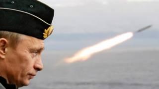 Путин и ракета