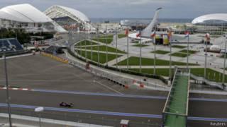 Ahabera isiganwa ry'imiduga Formula 1 i Sochi mu Burusiya