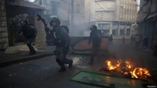 Израильская полиция в Назарете