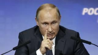 "Владимир Путин на форуме ""Россия зовет!"""