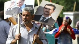 مؤيدي الأسد