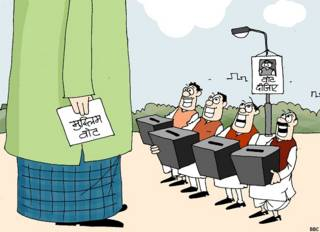 मुस्लिम वोट बैंक