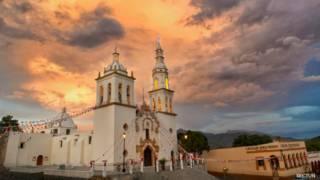 Parroquia de Santiago Apóstol en Nuevo León, México. Foto: cortesía Secretaría de Turismo
