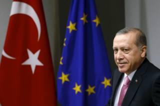 Турецкий лидер Реджет Тайип Эрдоган