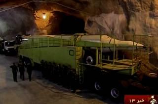 Иранская баллистическая ракета
