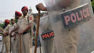 полиция в Пенджабе