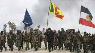श्रीलंका की सेना.