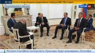 Асад і Путін