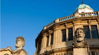 La biblioteca de la Universidad de Oxford