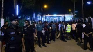 ढाका में धमाका