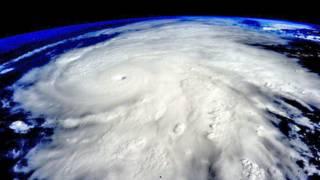 Imagen satelital del huracán Patricia