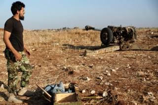 """Боец """"Свободной сирийской армии"""" 16 октября 2015 года"""