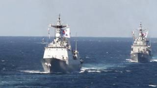 दक्षिण कोरिया की नौसेना