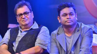 निर्माता निर्देशक सुभाष घई के साथ एआर रहमान.