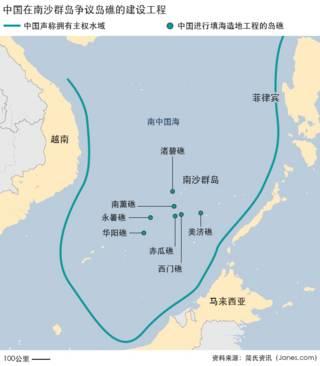 地图:南海工程