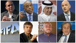 Các ứng viên vào chức Chủ tích Fifa