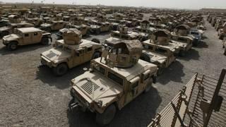 هجوم بالصواريخ على قاعدة عراقية تستضيف معارضين إيرانيين