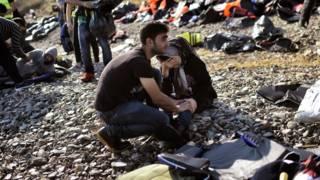 Migrantes Lesbos