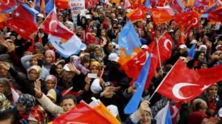 Pendukung AKP