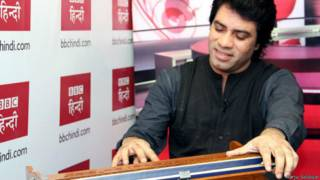 पाकिस्तानी बॉलीवुड गायक जावेद बशीर बीबीसी स्टूडियो में
