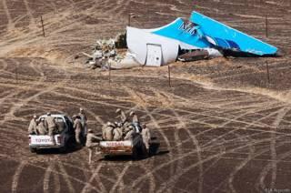 крушение А321 на Синае