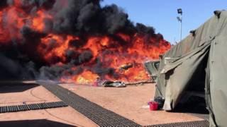 Мигранты устроили беспорядки на британской базе на Кипре