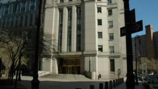 Здание суда в Манхэттене