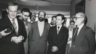 بازرگان، چمران، یزدی و حافظ اسد