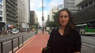 A pesquisadora Leah Zamore (Foto: João Fellet/BBC Brasil)
