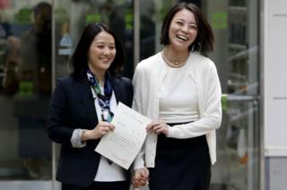 Хироко Масухара и Коюки Хигаси