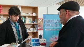 """Las medicinas en una """"farmacia popular"""