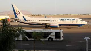 Самолет в аэропорту Шарм-эш-Шейха