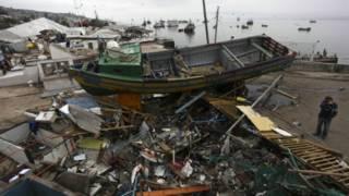 زلزال قوي يهز غرب تشيلي