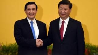 चीन और ताइवान ऐतिहासिक मुलाकात