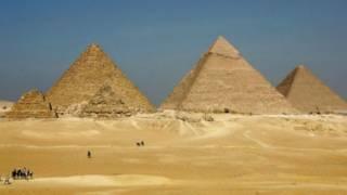 मिस्र, पिरामिड