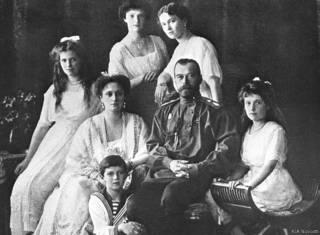 Царь Николай II и его семья в Санкт-Петербурге. Начало 1910-х гг.