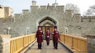 A Torre de Londres que os turistas não veem