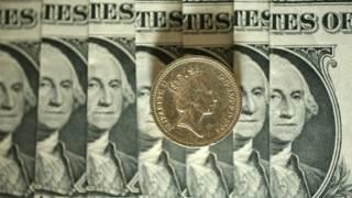 Доллары и фунт