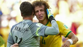 Julio Cesar, David Luiz