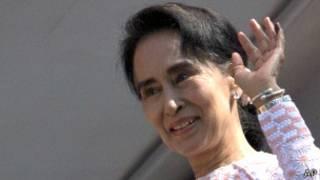 Shugabar 'yan adawa Aung San Suu Kyi