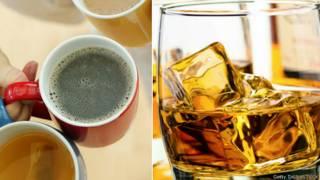 चाय और व्हिस्की