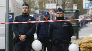 Бельгийские полицейские