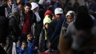 सीरियाई प्रवासी