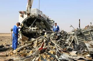 ФСБ России: причиной крушения А321 в Египте стал теракт