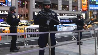 Policías del Grupo de Respuesta Estratégica