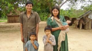 Mujeres tsimané, en Bolivia