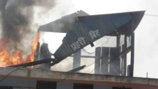 नेपाल में हिंसक प्रदर्शन
