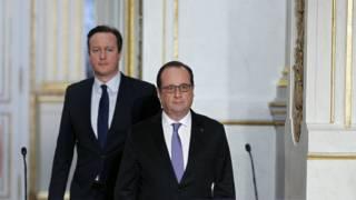 Hollande dan Cameron